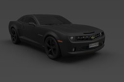 Chevy Camaro Render