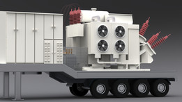 high-voltage mobile substations