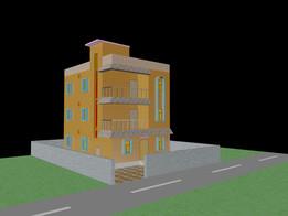 A SIMPLE 3D HOUSE