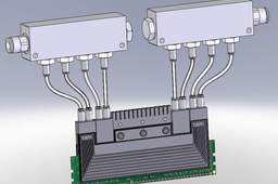 System of water cooling DDR3