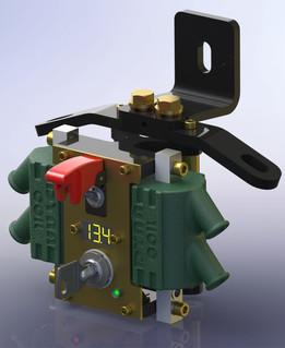 Upper Engine Mount / Coil Bracket, Shovelhead FXS