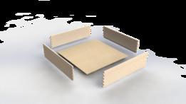 Parametric plywood drawer box