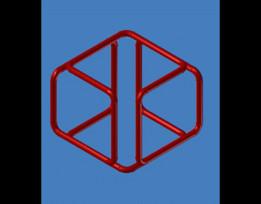 Cube in Pipe