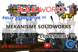 SolidWorks Tutorial Indonesia #004 (Eng Sub) - Mekanisme SolidWorks (SolidWorks Mechanism)