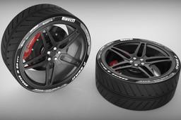 Ferrari Wheel Design.