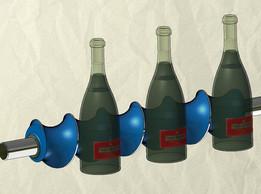 Bottle screw feeder