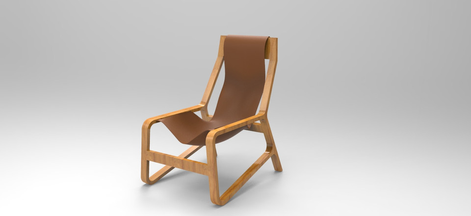 Bludot Toro Chair | 3D CAD Model Library | GrabCAD