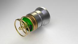P60 LED flashlight/torch drop-in