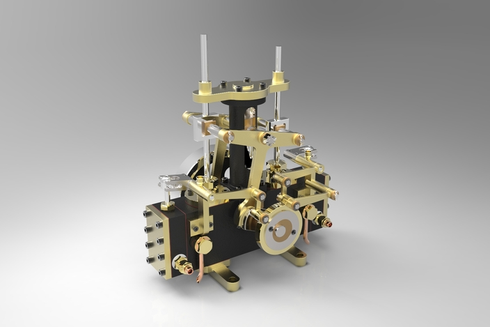 Modified Bernays Steam Engine