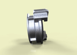 Pressure-tight screwed head for fire hose ГM-50