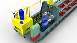Plate Bending Machine (Maximum 25mm Thick and 6500mm Long)