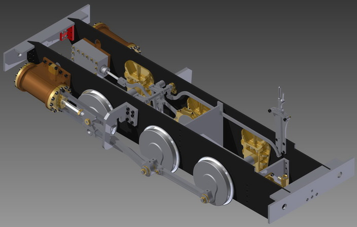 "5"" Model Steam Train"