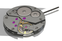 ETA 6497-1 complete watch movement