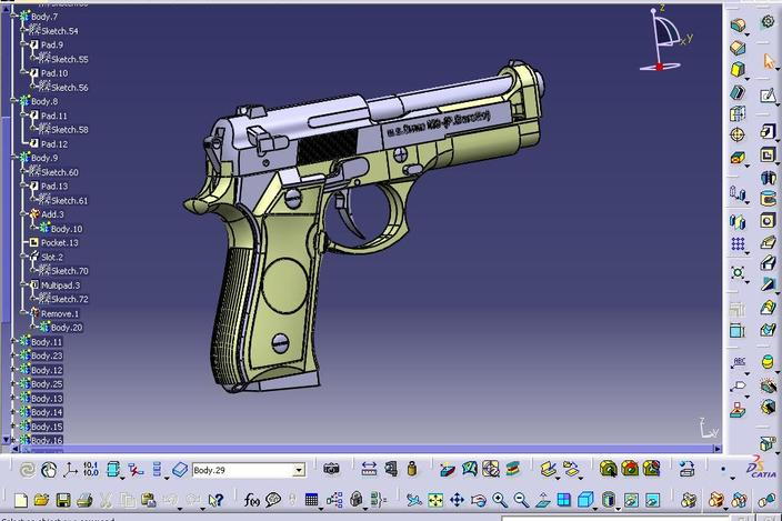 how to add npt catia