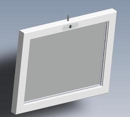 Miroir LED infini