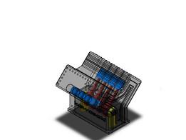 motor de oito cilindros