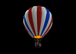 GC Great Rendering Challenge - Hot Air Balloon w/Grabby