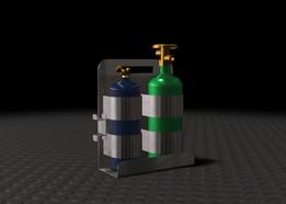 Gas Cylinder Holder
