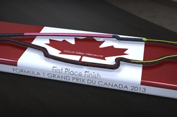 Trophy for Canada GP 2013