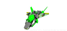 Green Lantern Lego Ship