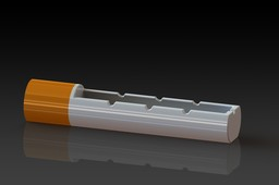 Ashtray - form of cigarettes for 3D Printing Event Challenge 2nd edition