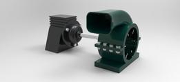 motor blower