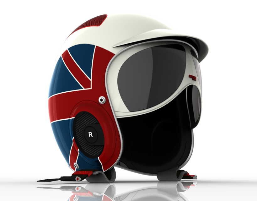 MOTOR BIKE HELMET | 3D CAD Model Library | GrabCAD
