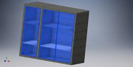 Cabinets definable parametrama