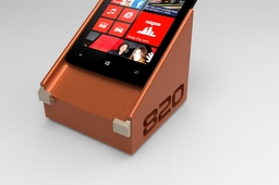 Challenge: NOKIA LUMIA MAGNETIC CHARGER with sliding supporting edges