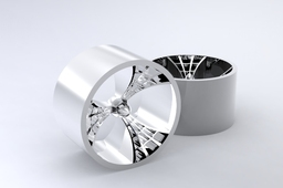 Rear Spider Wheel