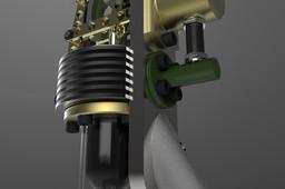 Vertical Stirling Engine