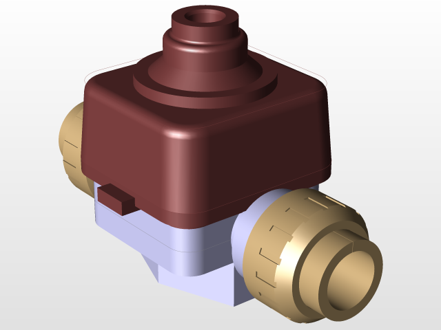 Pneumatic diaphragm valve 3d cad model library grabcad load in 3d viewer uploaded by anonymous ccuart Images