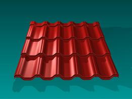 Metallic Roof Tile