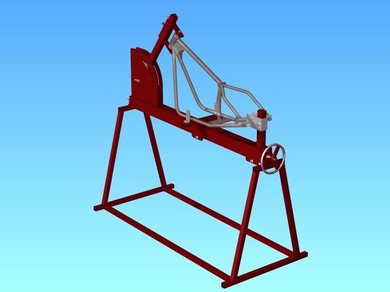 free motorcycle frame  Motorcycle Frame building Jig | 3D CAD Model Library | GrabCAD