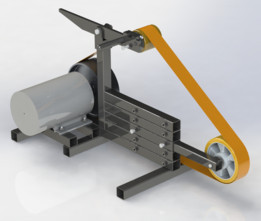 Belt grinder - backstand