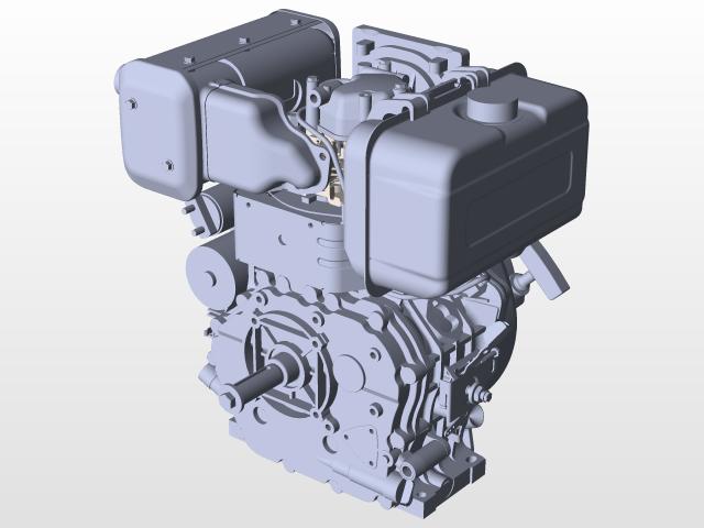 Yanmar L100W | 3D CAD Model Library | GrabCAD