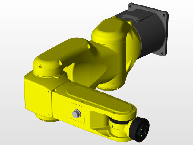 Fanuc Robot | 3D CAD Model Library | GrabCAD