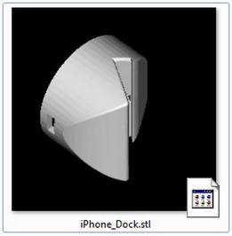 Iphone dock 3DP ready
