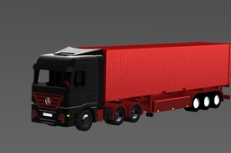 MB Actros + Container