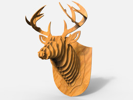 Deer Head (Wall Mount)