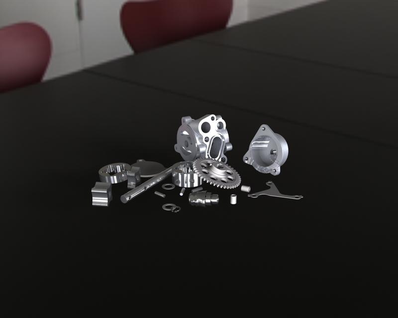 MOTEUR 1100 GSXR 1990 (ENGINE) | 3D CAD Model Library | GrabCAD