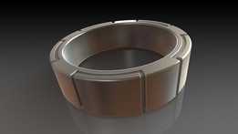 Interlocking Ti Ring