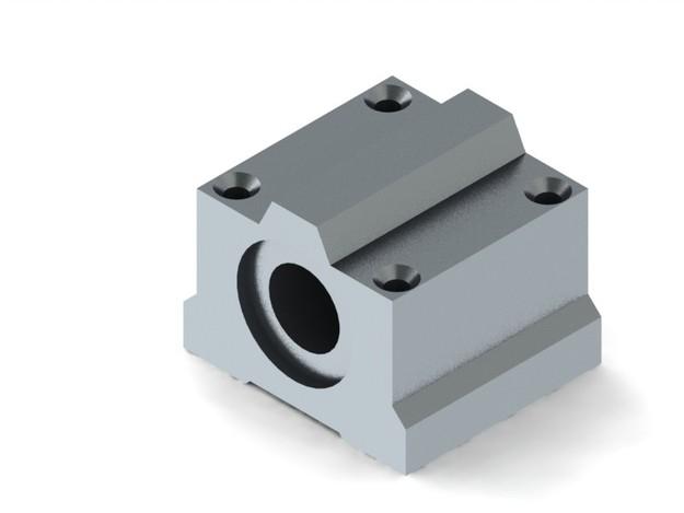SC16UU - 16mm linear bearing unit