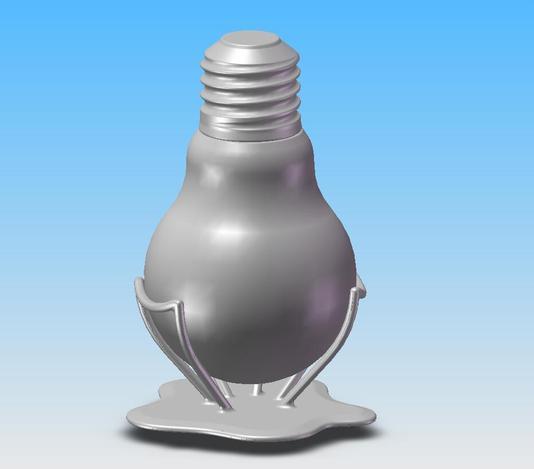 bulb bottle