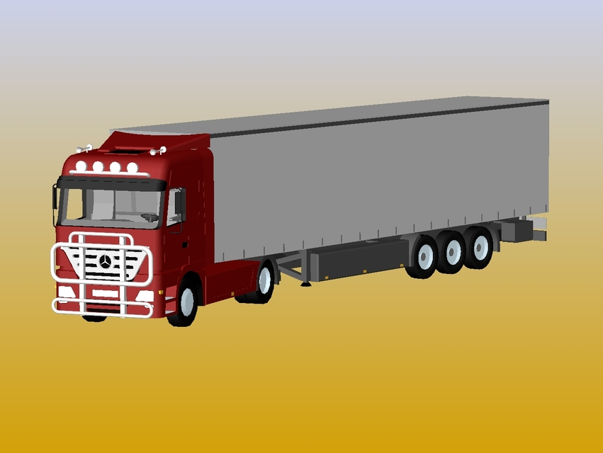 SOLIDWORKS, truck - Most downloaded models | 3D CAD Model