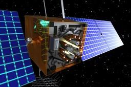 NAVSTAR GPS Space Satellite - Life Size