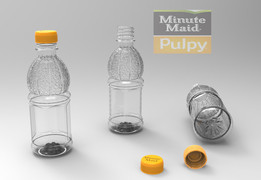 Minute maid Pulpy bottle