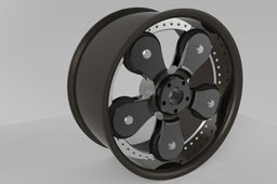 free-running wheel design