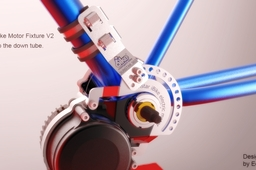 Sunstar ibike motor fixture version 2