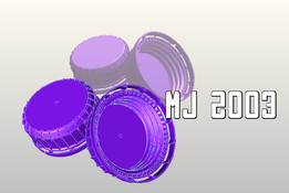 Cap for oil cans